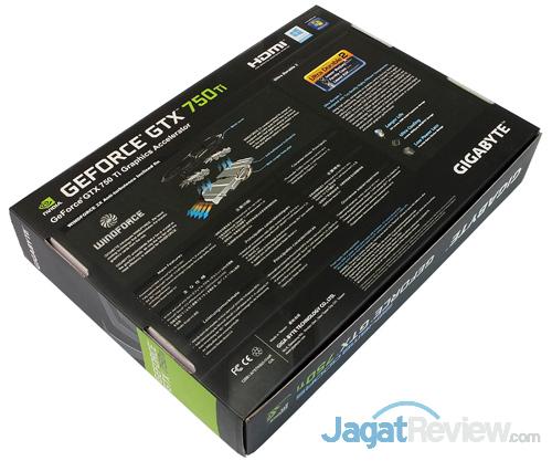 gigabyte gtx 750 ti black edition rear box