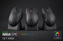 [PR] RAZER Introduces the Naga Epic Chroma Mouse for Wireless MMO Gaming..