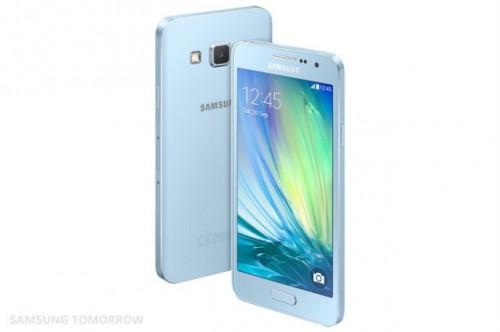 Galaxy A3 Light Blue