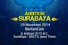 AOCT 2014 Audition – Surabaya: Pendaftaran Telah Dibuka!
