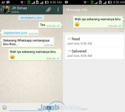 WhatsApp Centang Biru
