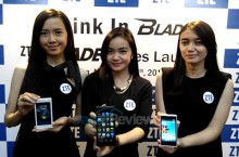 ZTE Luncurkan Tiga Smartphone Android Blade