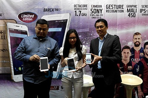 Hands On Tablet Advan Barca Tab 7 Inci