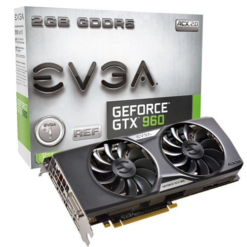 EVGA GeForce GTX 960 ACX 2.0+ - 1127 1178 - 7010