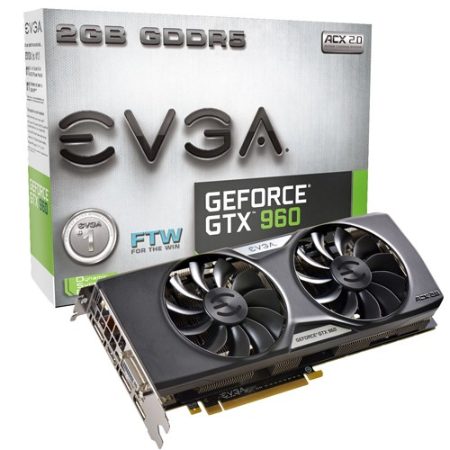 EVGA GeForce GTX 960 FTW ACX 2.0+ - 1304 1367 - 7010