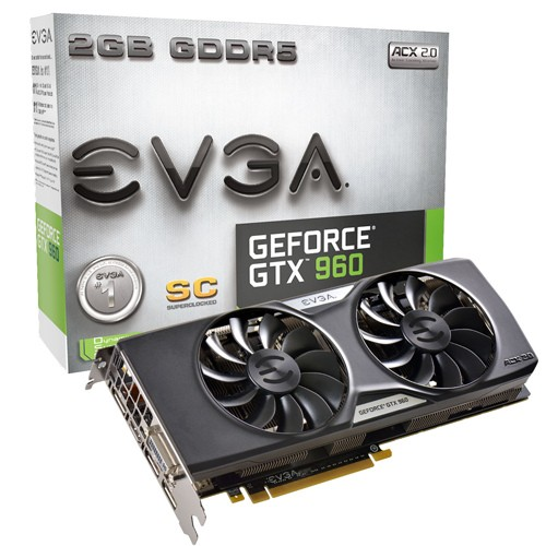 EVGA GeForce GTX 960 Superclocked ACX 2.0+