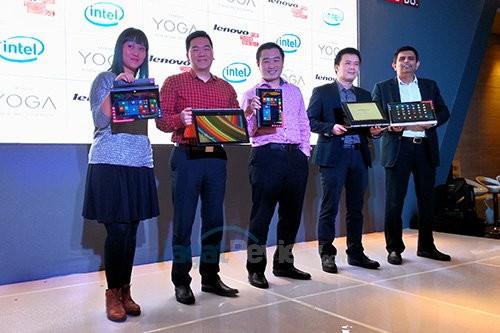 Lenovo Yoga Launch