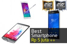 Smartphone Android Premium Terbaik 2014 Harga di Atas Lima Juta Rupiah