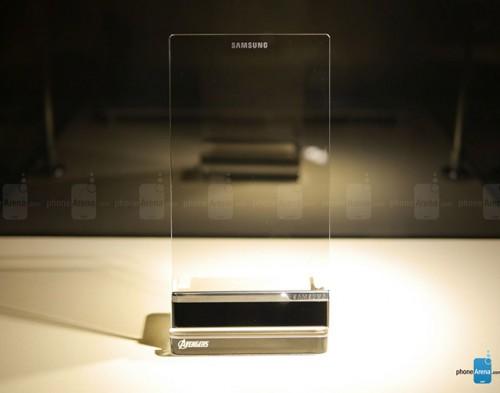 samsung transparant phone