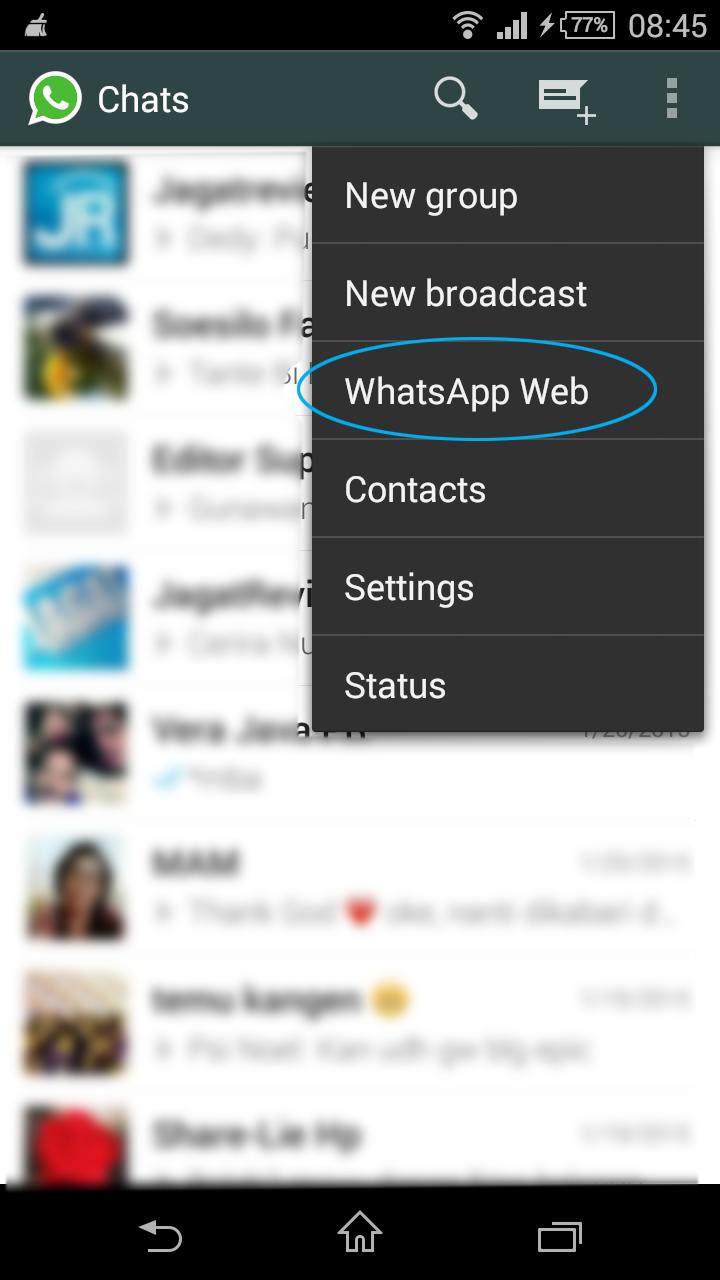 Tips Menggunakan WhatsApp versi Desktop di Windows | Jagat
