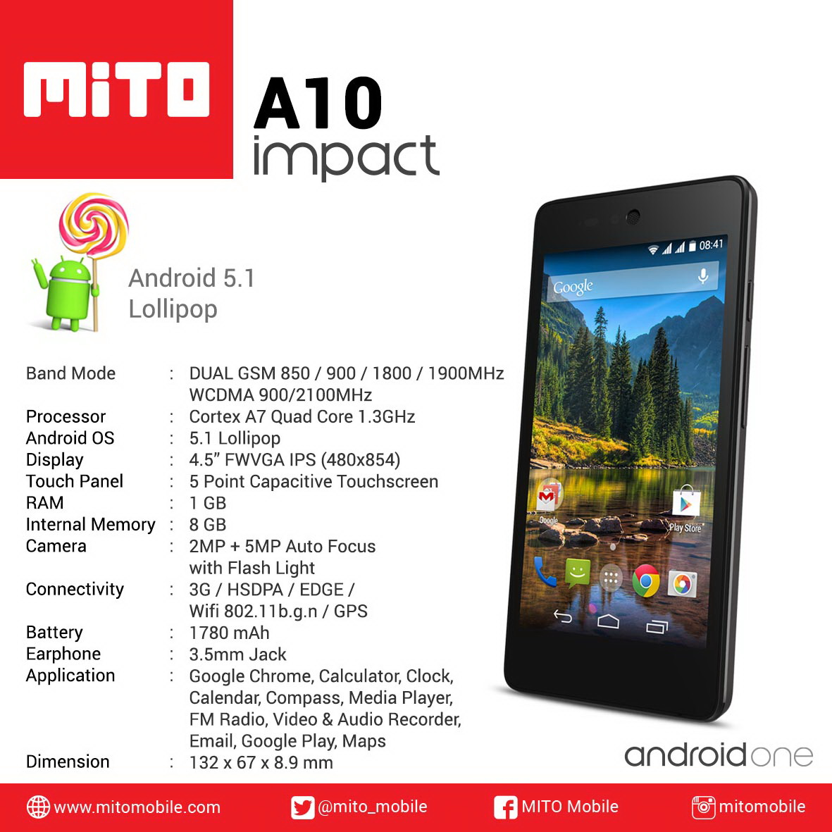 "[PR] ""MITO Impact Android One"" Launch Hari Ini 