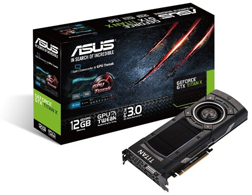 ASUS GEFORCE GTX TITAN X 1000 1075 7010