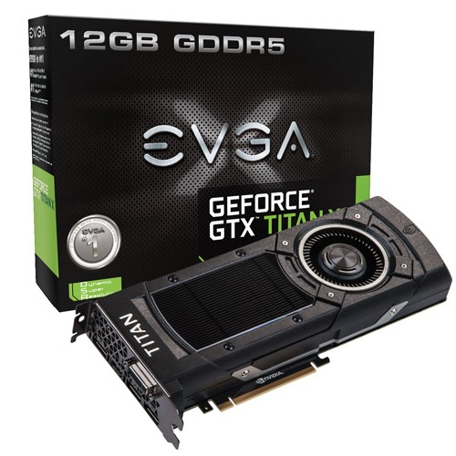 EVGA GEFORCE GTX TITAN X 1000 1075 7010