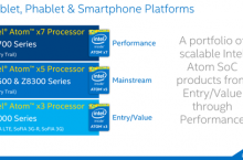 Intel Perkenalkan Atom x3/x5/x7 Untuk Perangkat Mobile Masa Depan