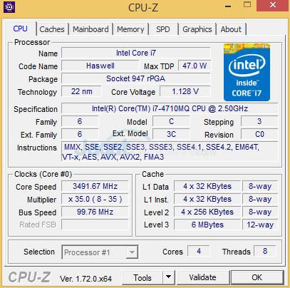 Pegasus PS15SR X2 CPUZ 01
