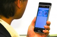 Fujitsu Pamerkan Sensor Iris Mata di Smartphone