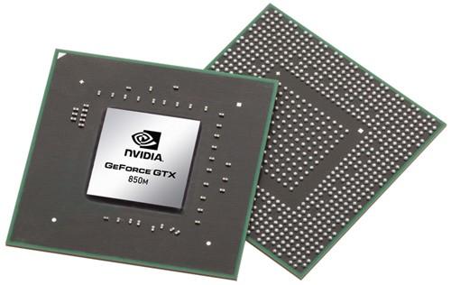 nvidia geforce gtx 850m gpu