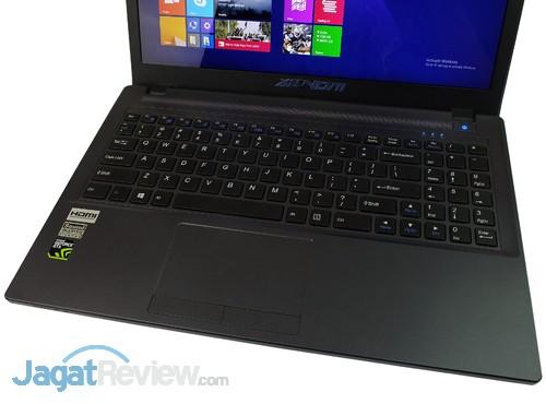 xenom pegasus ps15sr x2 keyboard & touchpad