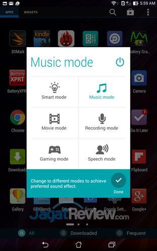ASUS Fonepad 8 - Audio Wizard