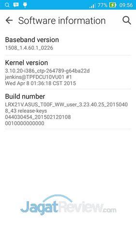 Preview ASUS Zenfone 5 Lollipop: Material Design ZenUi di Intel