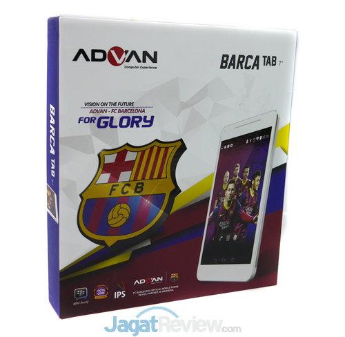 Review Advan Barca Tab Tablet Android Octa Core Untuk