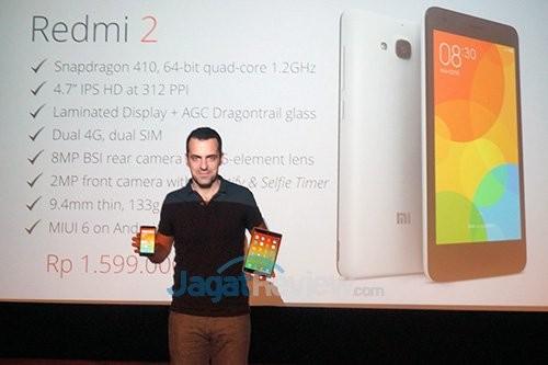 Xiaomi Redmi 2 MiPad Launch