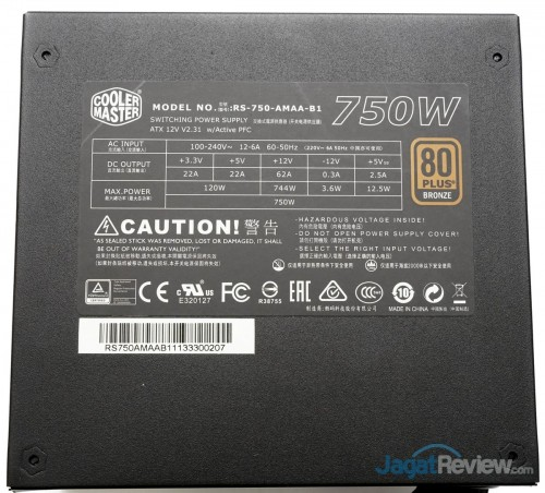 CoolerMaster G750M 8