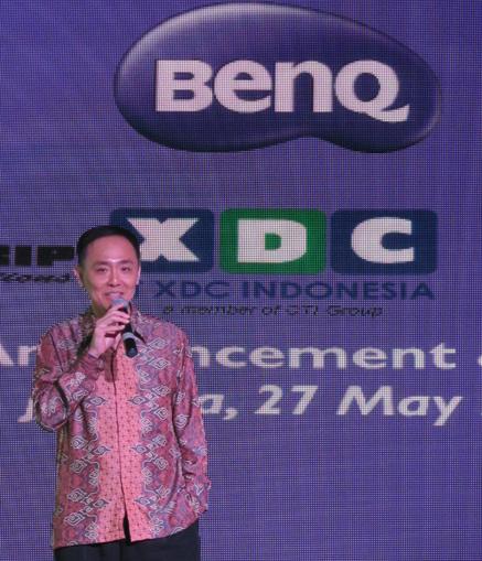 Eko Handoko, Country Manager BenQ Indonesia