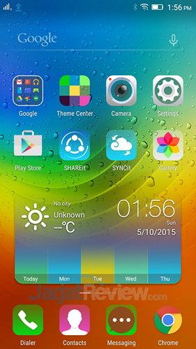 Lenovo A7000 - HomeScreen