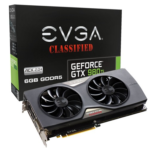 EVGA GTX 980 Ti Classified ACX 2.0+ 1152 1241 7010