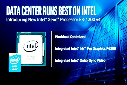 Intel Keynote Computex 2015 - Xeon Announcement