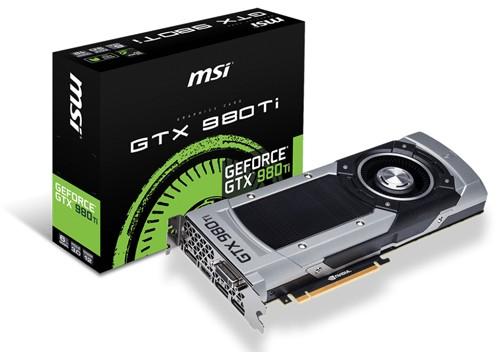 MSI GTX 980 Ti 1000 1076 7010
