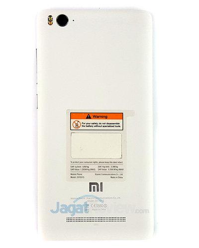 Xiaomi Mi 4i - Belakang