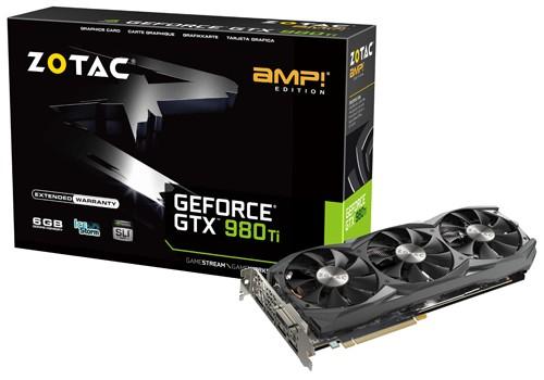 ZOTAC GTX 980 Ti AMP! 1051 1140 7010