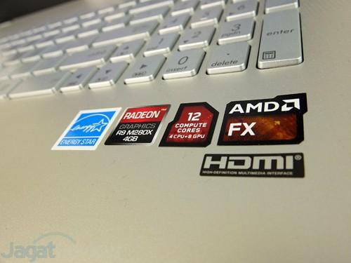 ASUS N551ZU AMD Logo