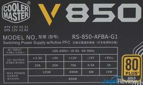 Coolermaster V850 8
