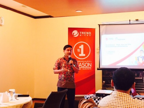 Andreas Ananto Kagawa, Country Manager, Trend Micro Indonesia