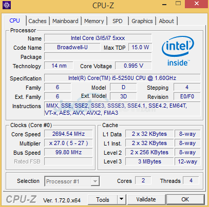 Intel NUC NUC5i5RYH CPUZ 02