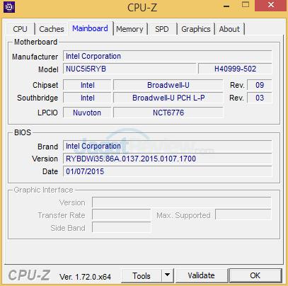 Intel NUC NUC5i5RYH CPUZ 03