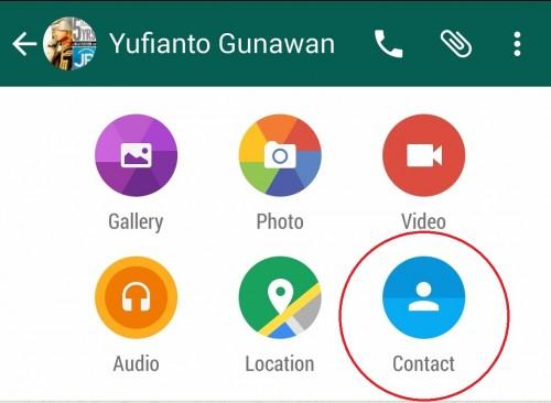 Tips WhatsApp: Mengirim Kontak dan Nomer Telepon - Jagat ...