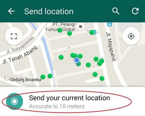 WA Kirim Lokasi GPS 04B
