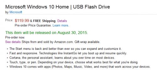 Windows 10 - USB Flash Disk