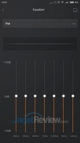 Xiaomi Mi 4i - Equalizer