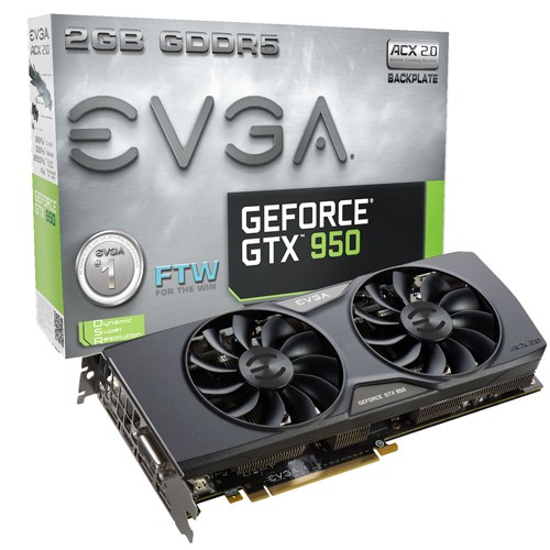 EVGA GTX 950 FTW ACX 2.0 1203 1405 6610