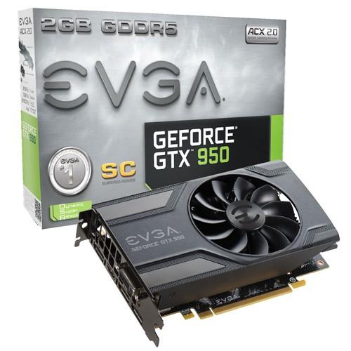 EVGA GTX 950 SUPERCLOCKED 1152 1342 6610