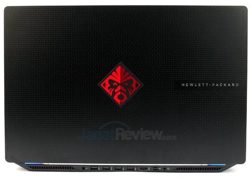 HP Omen 15-5117TX Rear Side