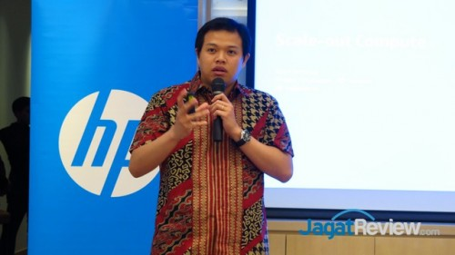 Product Manager, HP Servers, HP Indonesia, Ray Christian