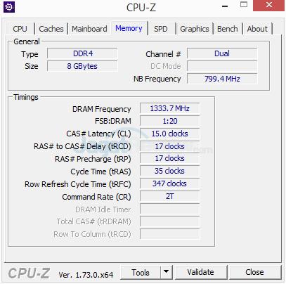 Gigabyte Z170X-Gaming G1 CPUZ 05 Normal