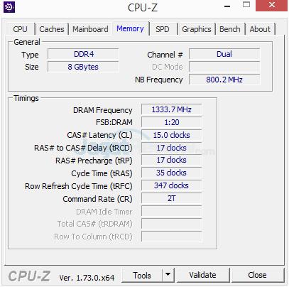 Gigabyte Z170X-Gaming G1 CPUZ 06 OC