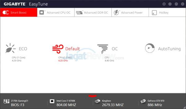 Gigabyte Z170X-Gaming G1 EasyTune 01